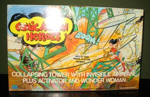 Mego Wonder Woman Exploding Tower