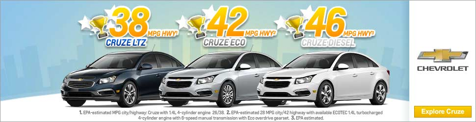 Chevy Cruze Efficiency Game